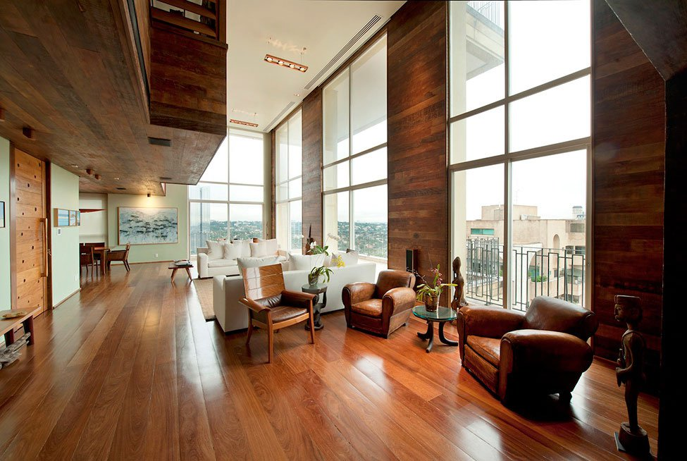 Wooden Apartment So Paulo by Carlos Motta  CAANdesign