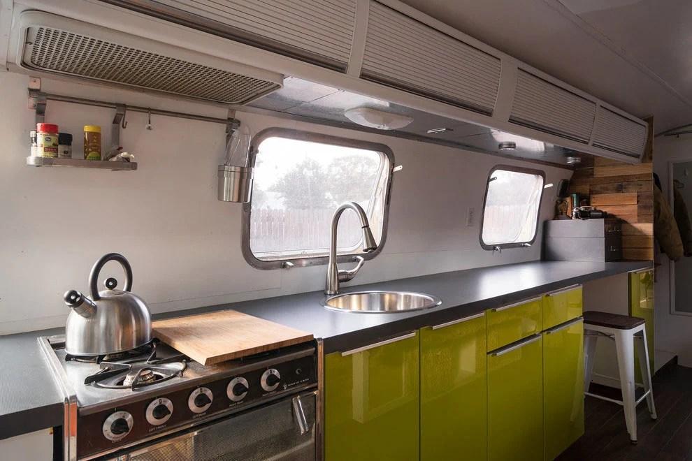 1976 Airstream Portable Home Renovation  CAANdesign