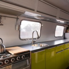 Ikea Kitchen Renovation Ideas Island Design 1976 Airstream Portable Home - Caandesign ...