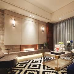 Houndstooth Sofa Fabric Modern Grey Velvet Luxury Small Apartment In Taipei By Studio Oj - Caandesign ...
