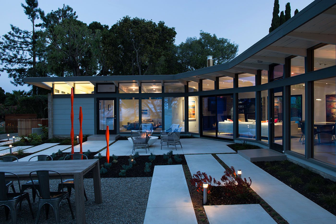 MidCentury Modern View House Remodel by Klopf