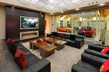 Car Garage with House