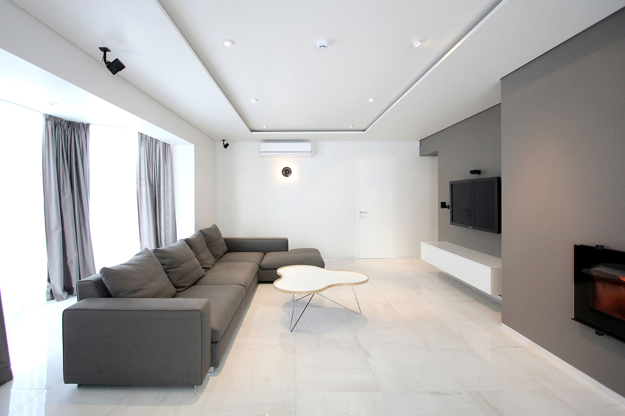 Minimal Style and White Colour Theme of House 02 by