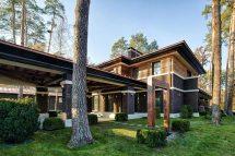 Contemporary Prairie Style House