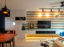 Stylish apartment for young couple in Singapore by Vievva ...