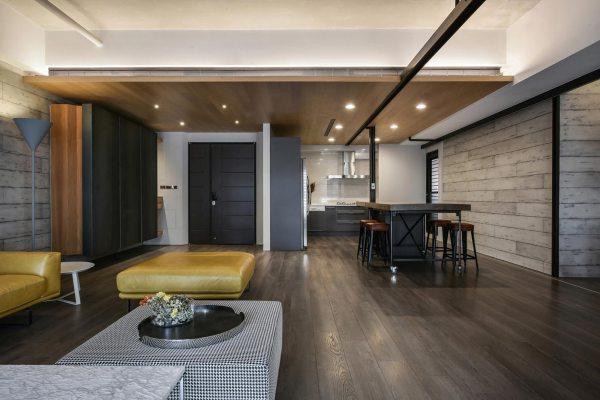 Home Interior Design - Contemporary Loft Aya Living Group