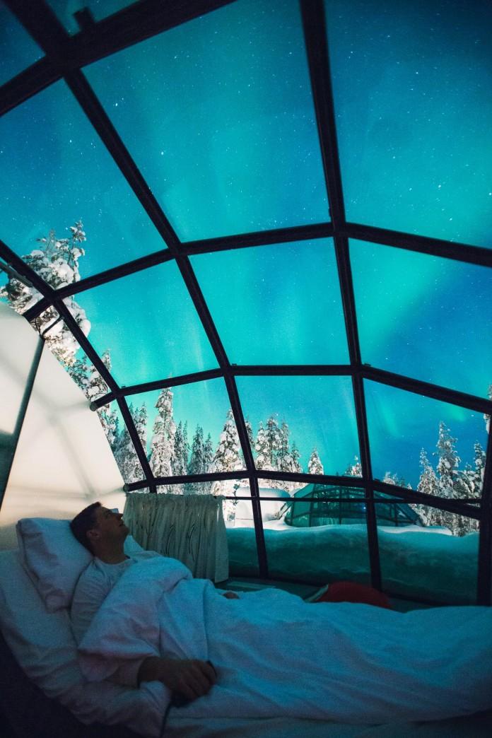 Kakslauttanen Arctic Resort  CAANdesign  Architecture