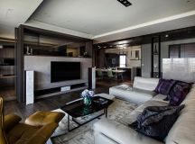Lin's Modern Apartment in Kaohsiung City, Taiwan designed ...