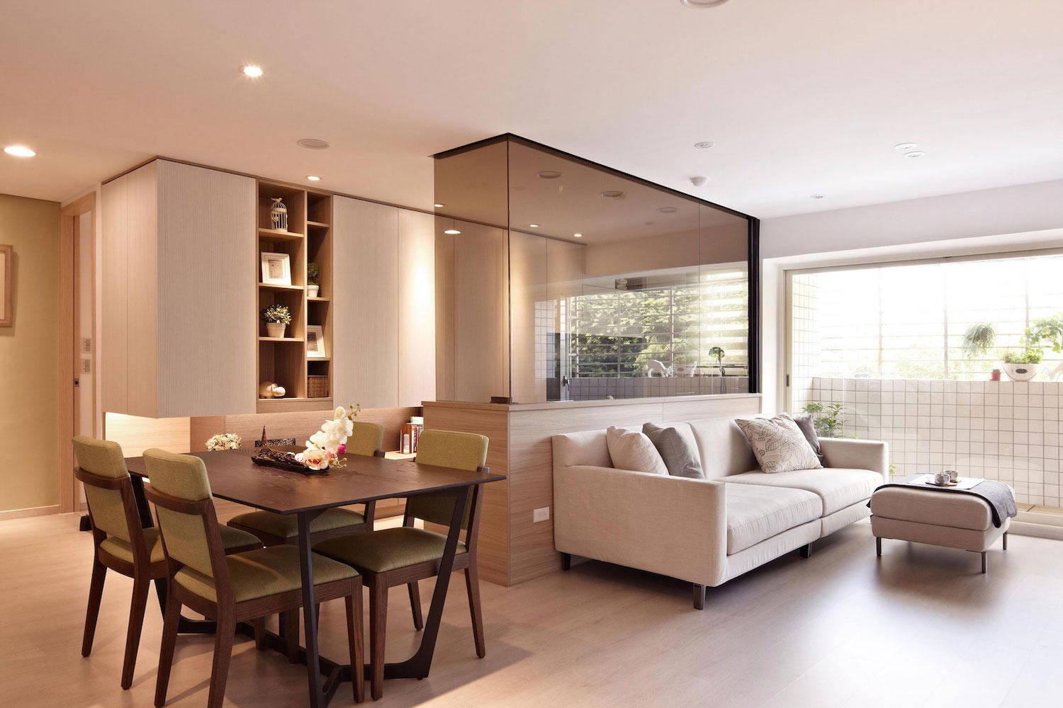 Modern Mr Lu Apartment in Taipei Taiwan by Alfonso Ideas  CAANdesign  Architecture and home