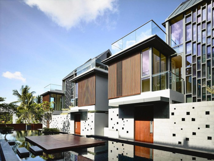 Toh Crescent cluster housing development of ten semidetached houses by Hyla Architects