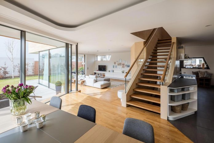 Holistic Living Eco Friendly Wooden Single Family House