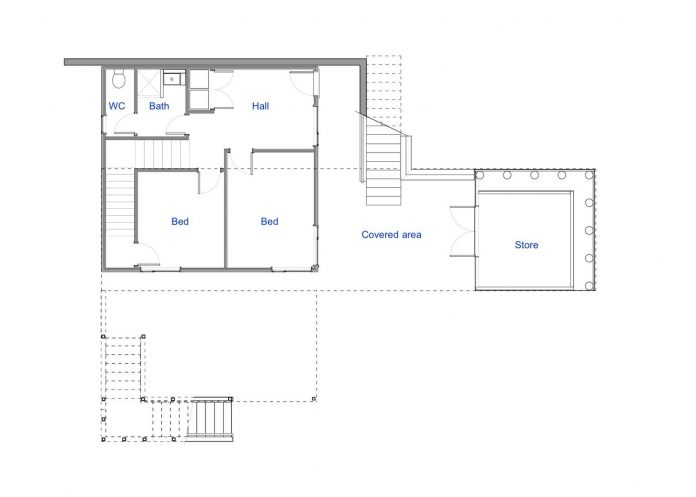 Renovation of Field Way Bach House in Waikanae, New