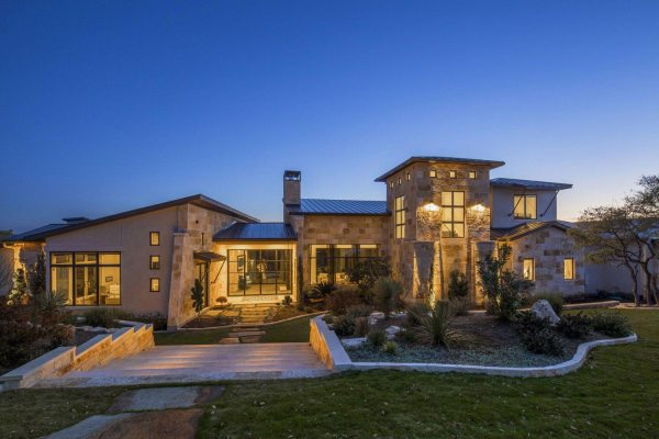 Texas Hill Country Modern Home Designs