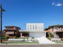 Concrete contemporary four bedroom house located in ...