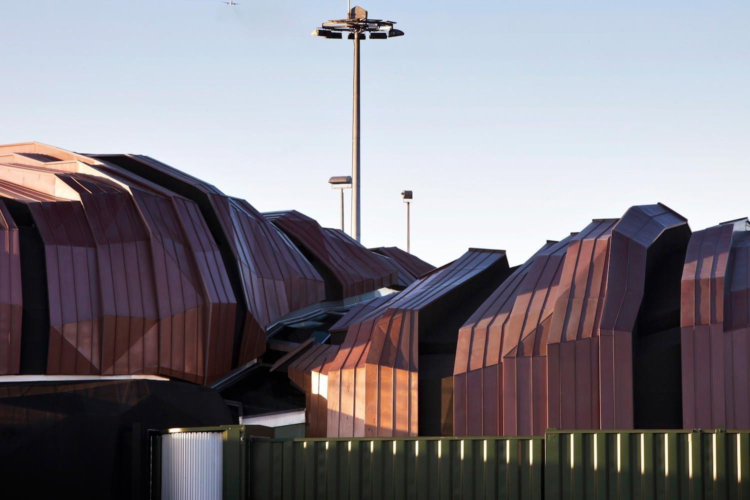 Unique Edgy And Aesthetic Design Of The Wellington International Airport Passenger Terminal