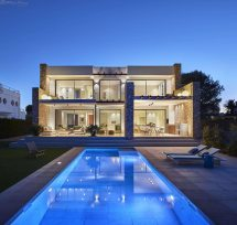 Seafront Villa Characterized Combination Modern