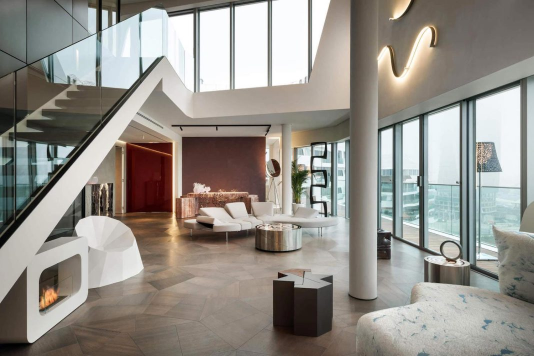Ultra Modern Penthouse One11 by Milano Contract District