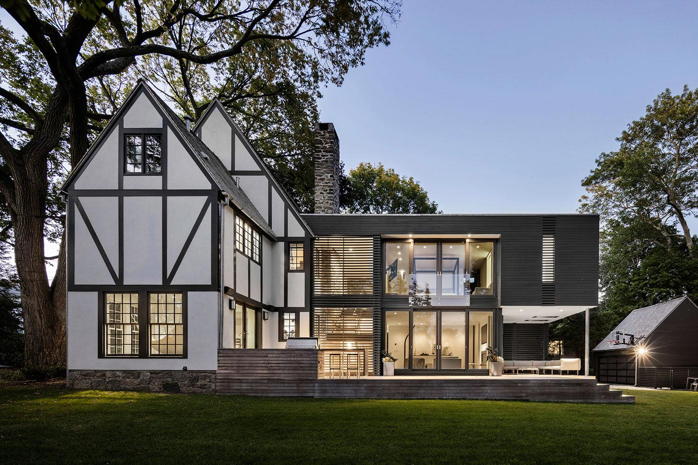 Renovation of a Tudor style residence that is preserving its character and history  CAANdesign