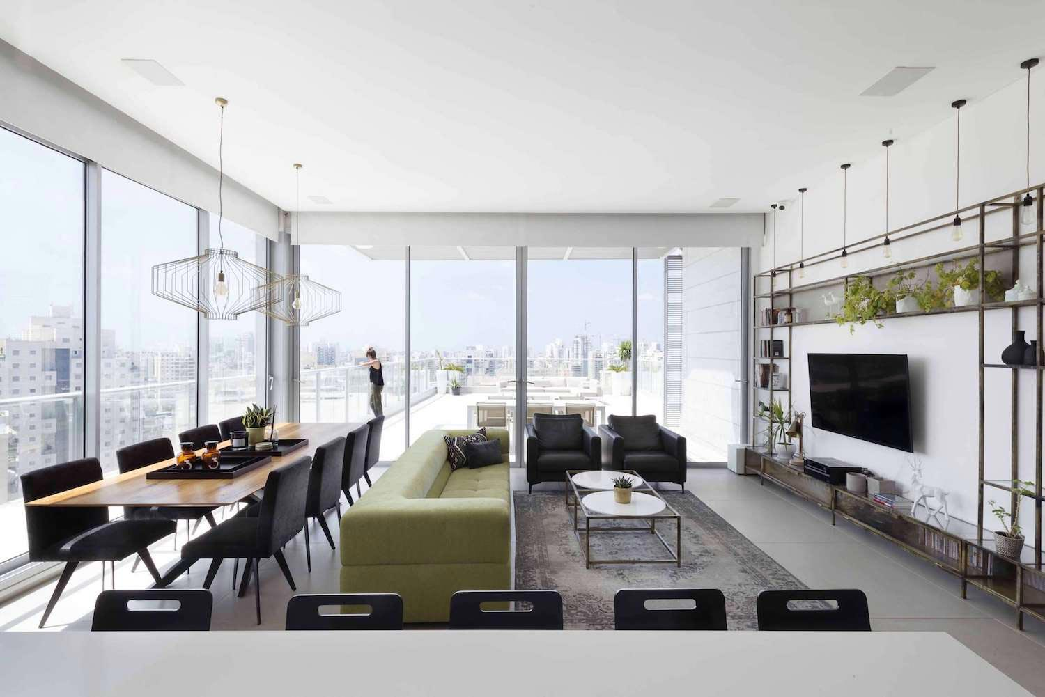 Minimalist design concept where the view remains the main