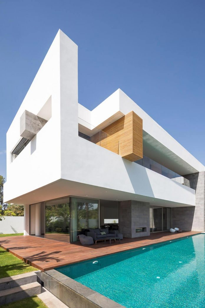Villa C A Modern Private House In A Luxury Suburb Of Rabat Morocco CAANdesign Architecture
