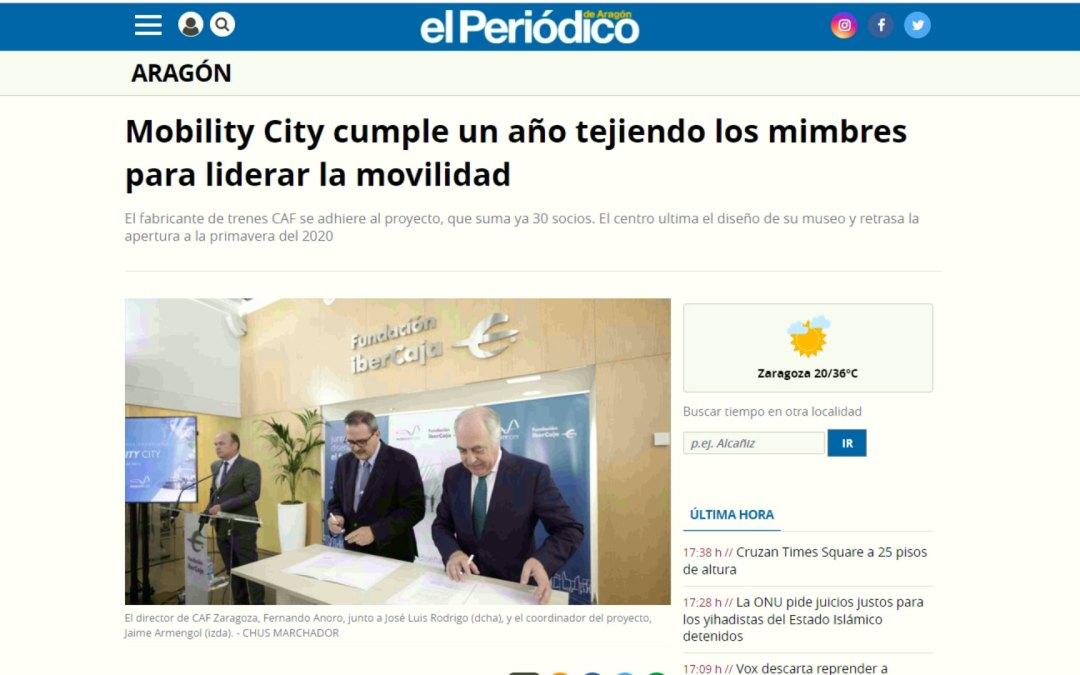 Mobility City cumple un año tejiendo los mimbres para liderar la movilidad