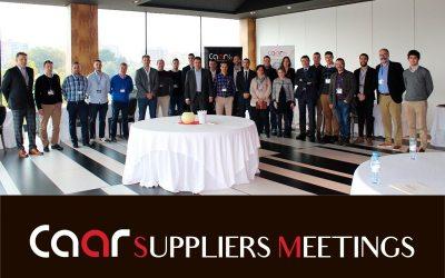 La segunda edición del CAAR SUPPLIERS MEETINGS calienta motores