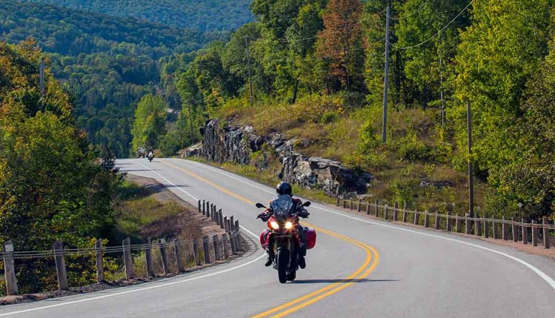 Riding Routes In The Ontario Highlands