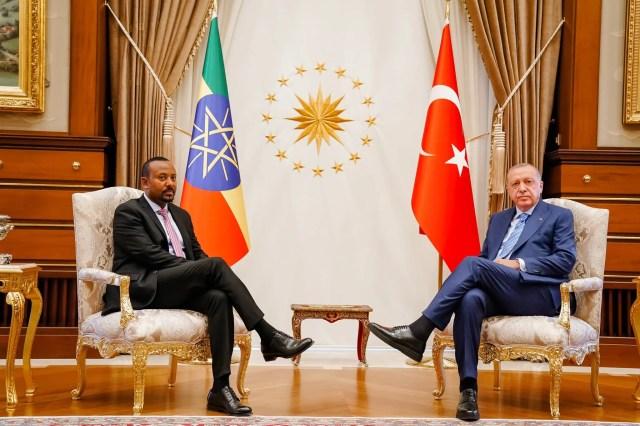 Erdogan oo soo faro-geliyey dagaalka Tigray – Muxuu u ballan-qaaday Abiy Ahmed?