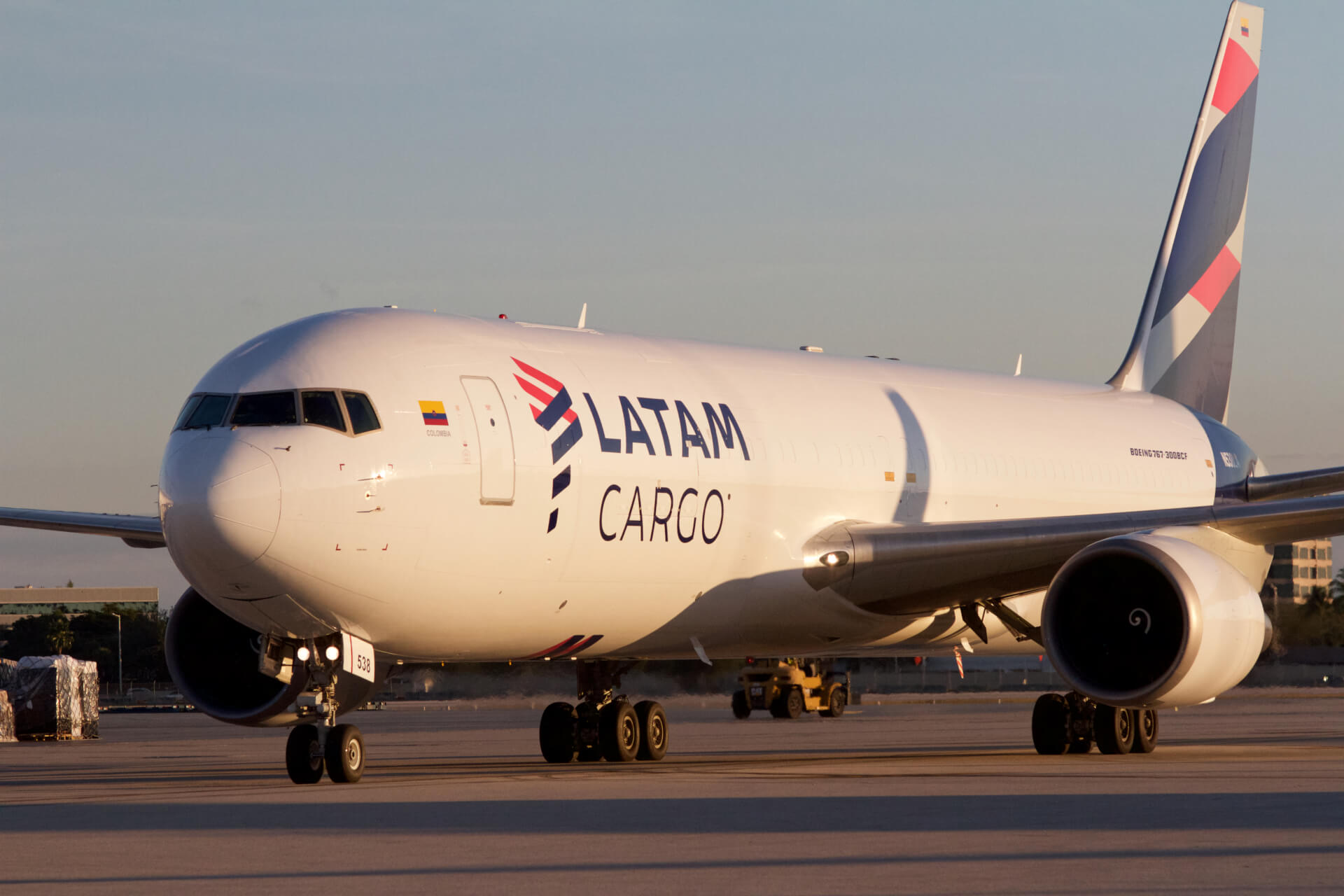 LATAM Cargo Group launches its 12th route from Miami to Brazil