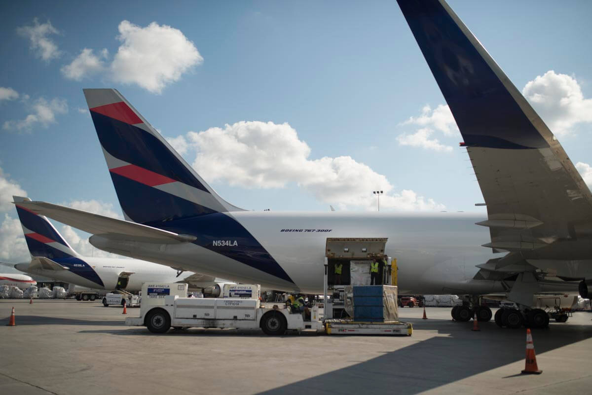 Latam Cargo Consolidates Its Position Between South America And Los Angeles