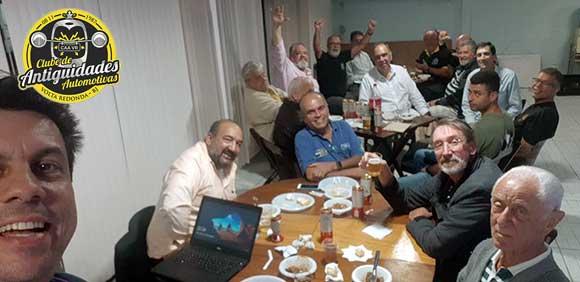 Reunião de Diretoria e Conselho do Clube de Antiguidades Automotivas de Volta Redonda
