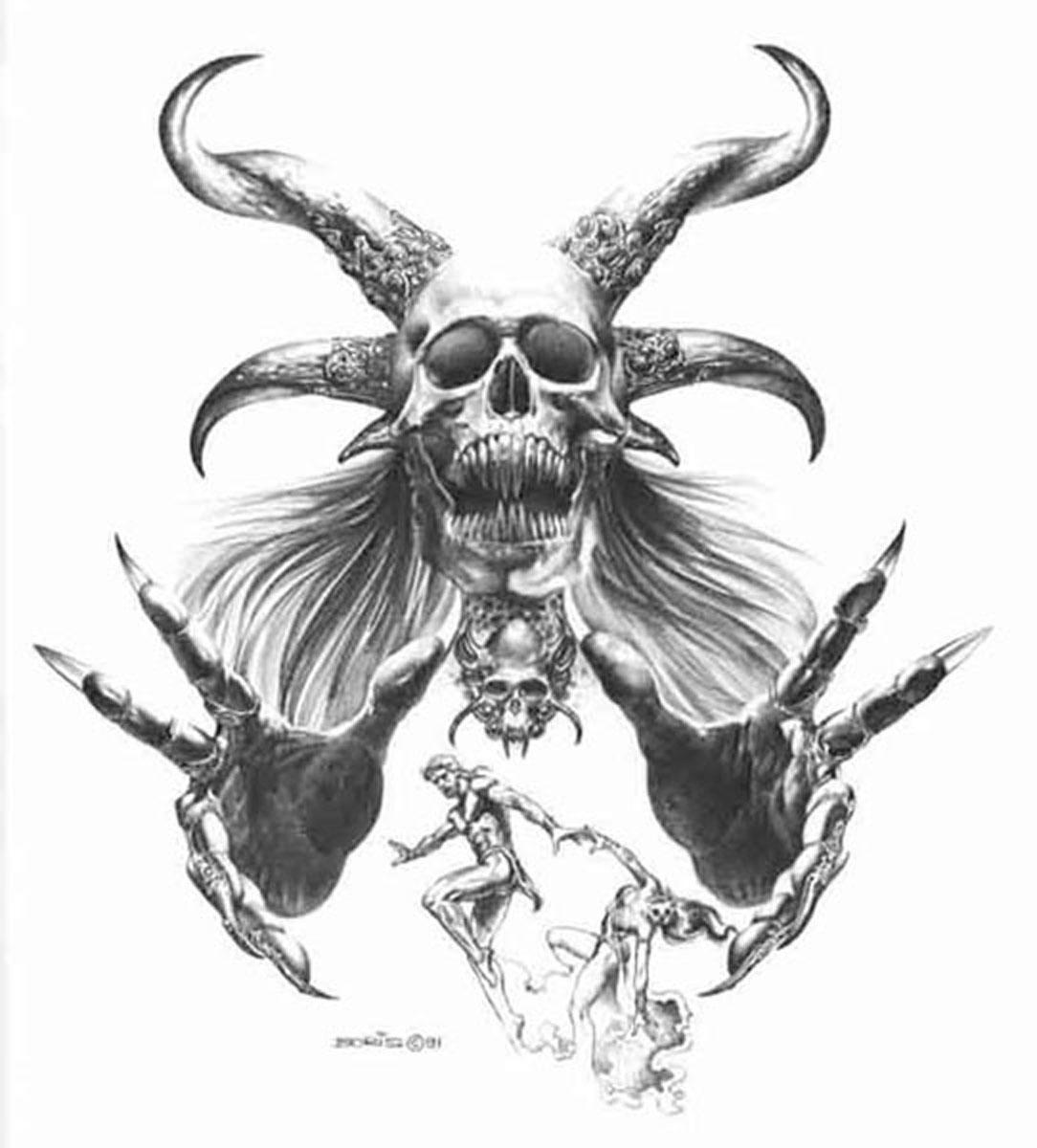 Satanic Tattoo: The Strange Case Of The Jihadi With A Satanic Tattoo