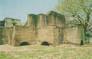 What remains today of the Gun Foundry the French established at Hyderabad.