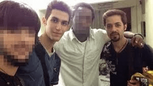 The two Iranians who were allegedly on board with fake passports
