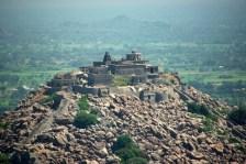 Jinji Fort near the Carnatic coast.