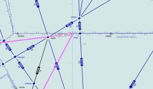 Mh370leftturn