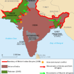 Partition would see the consolidation of British India and the Princely States into two nations. East Pakistan would later break off to create a third nation, Bangladesh.