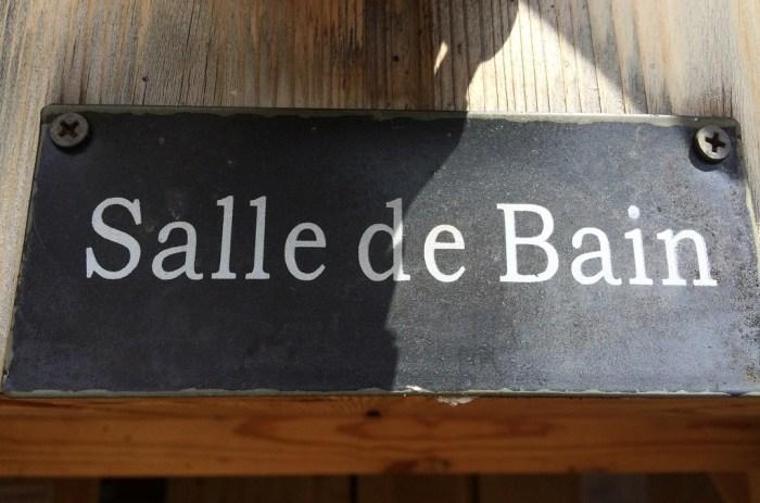 Salle de bain cabane arbre Cantal
