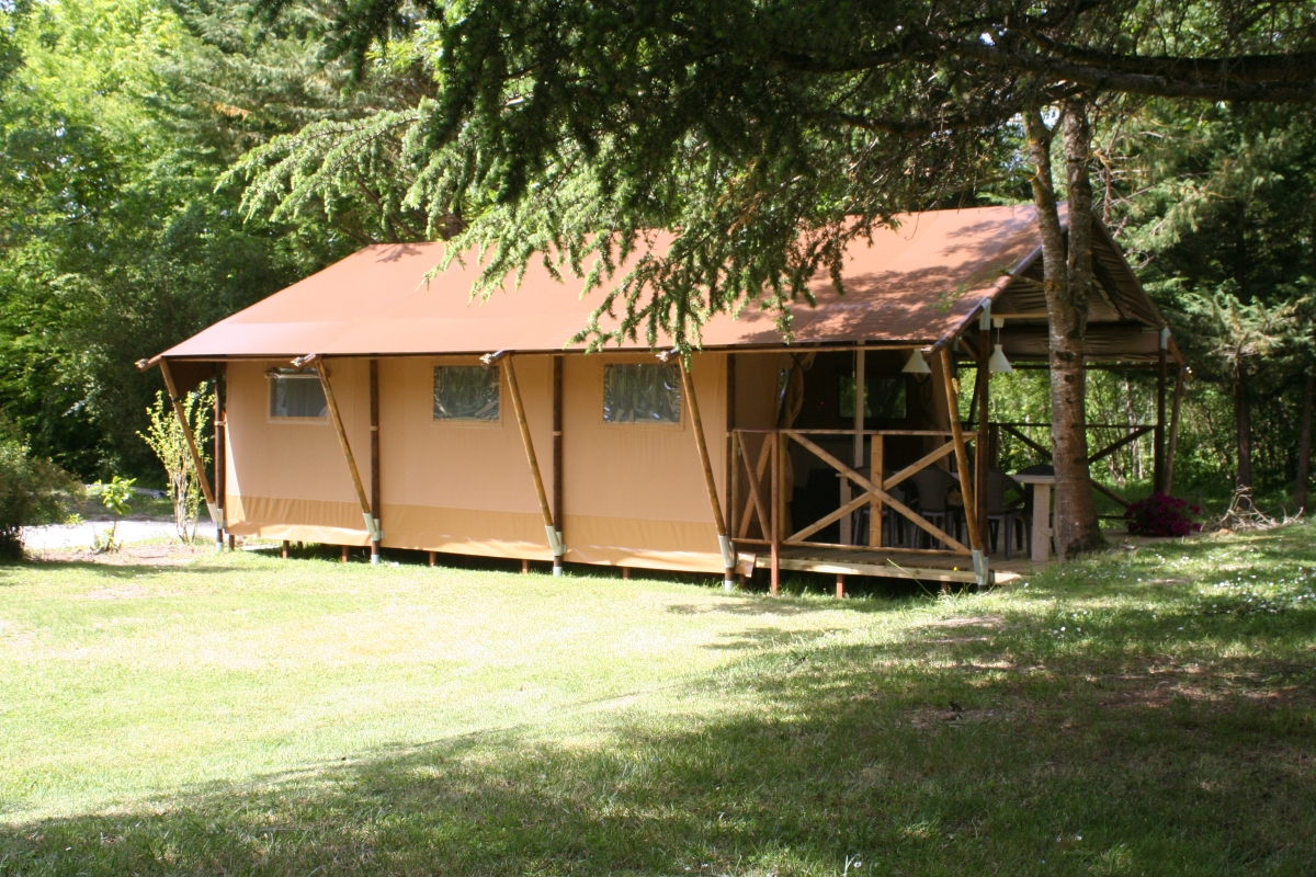 Safari lodge woody  Cabanes  Co