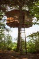 L'accés de la cabane Mirador