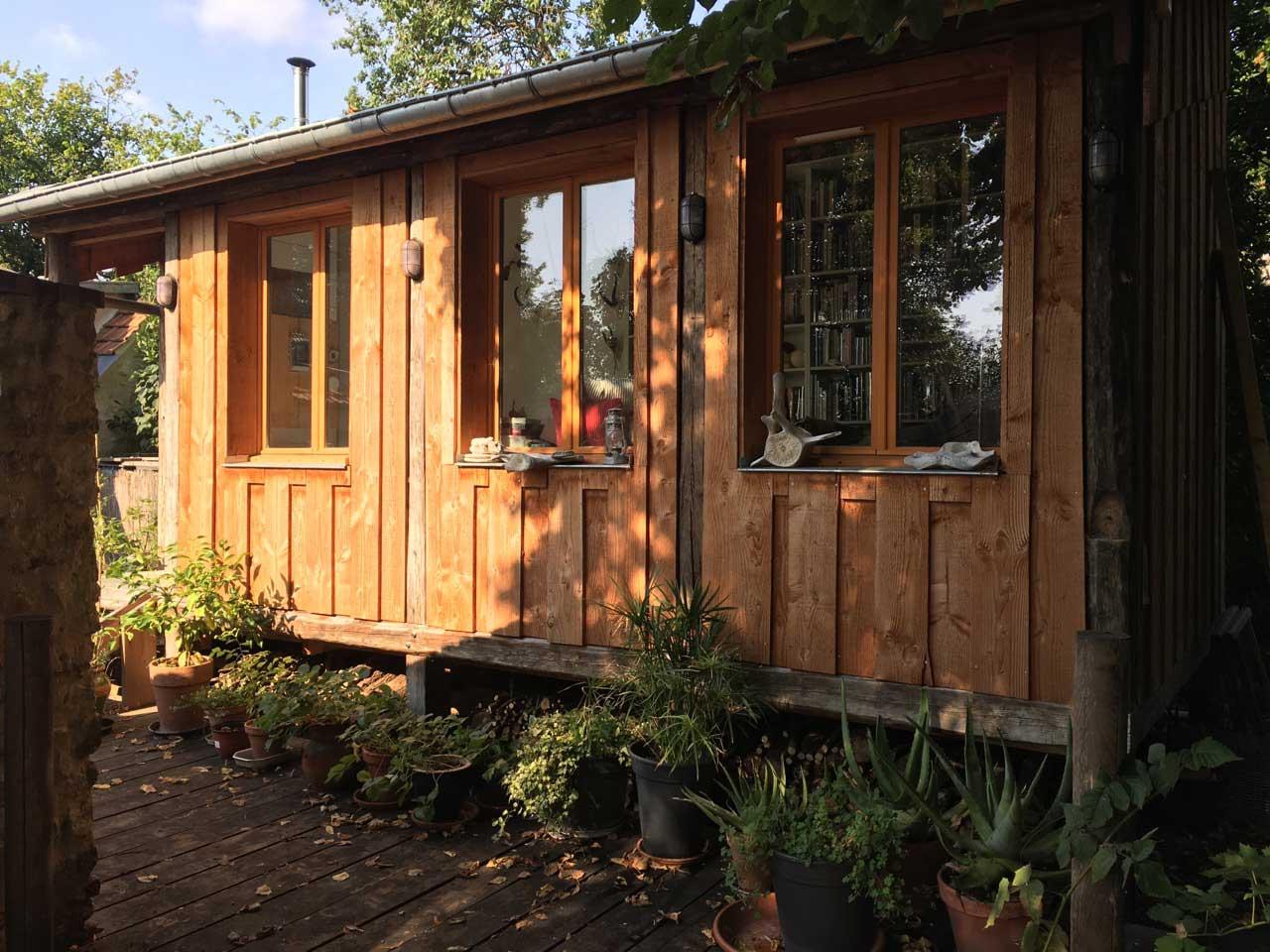 Cabane sur pilotis et habitation de jardin  Cabanologue