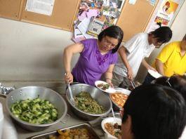 午餐於恩典華人宣道會 (2)