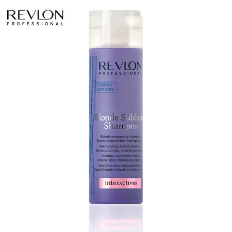 Shampoo Desamarelador Revlon Blonde Sublime