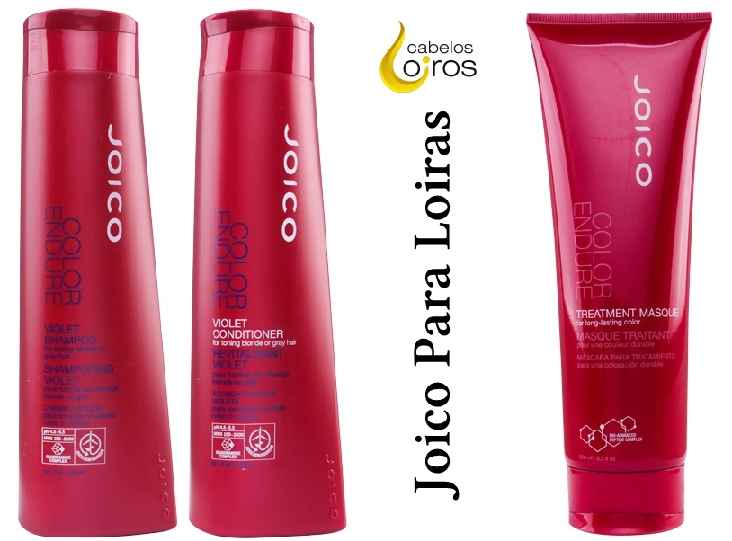 Joico Color Endure Violet Shampoo e Condicionador