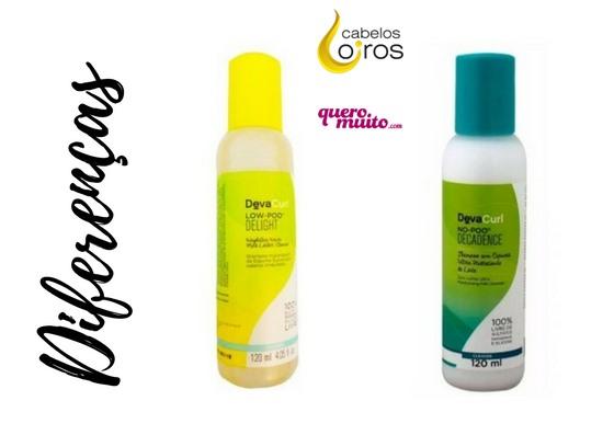 diferenças shampoo no poo e low poo