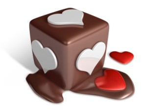 chocolate die (melting)