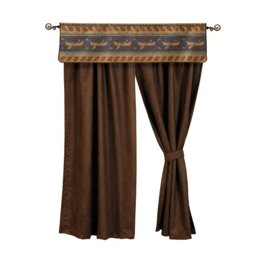 Lake Shore Curtains Set