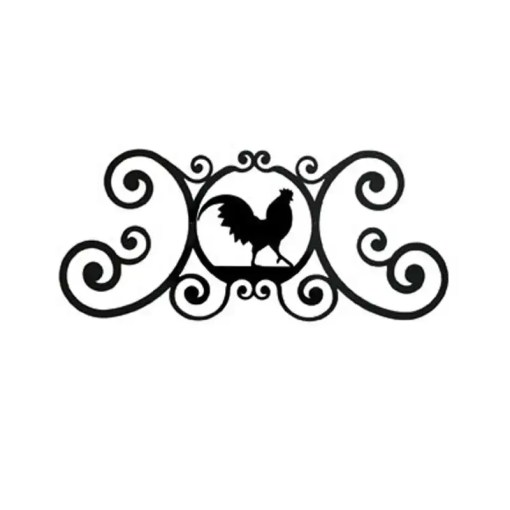 rooster Wall Mount Plaque