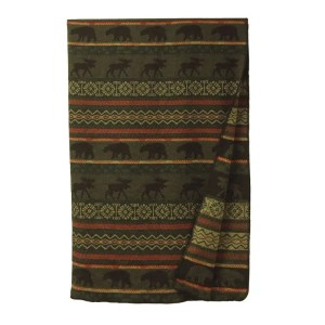 McWoods Cabin Throw Blanket