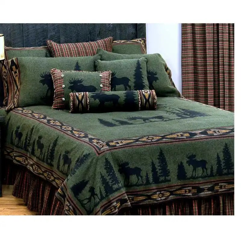moose bedspread Cal-king